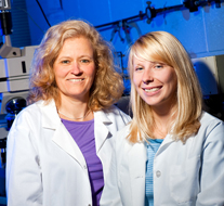 Dr. Arbuckle with Kristin Lammers, PhD Temple University